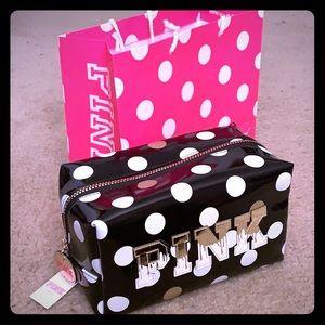 Victoria Secrets Pink Cosmetic Bag